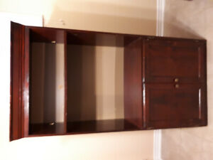 Wooden Entertainment Wall Unit
