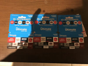 Gift cards LCBO Beer Store The keg and 10 plus restaurants