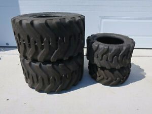 Set of 4 Compact Tractor Tires
