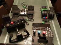 Saitek® Pro Flight Instruments, Almost new! 800$ neg