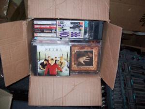 CDS  AND  175  CASSETTE  TAPES  --  GOSPEL  MUSIC