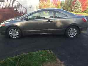 2007 Honda Coupe trade for family car