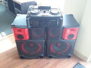 *** USED *** LG ELECTRONICS LG 4400 WATT DJ SYSTEM   S/N:CSYQ028074   #STORE219