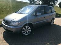 2005 Vauxhall Zafira 1.6i Breeze 5drPART EX TO CLEAR++7 SEATER ++ LOW MILES++