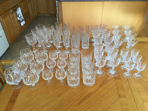 Cross and Olive Glassware