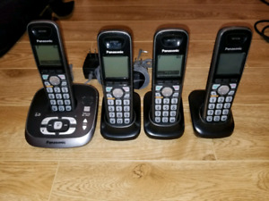 Panasonic cordless phones KX-TGA401C