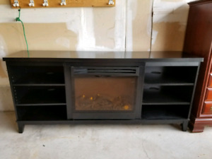 Electric Fireplace and Entertainment Unit