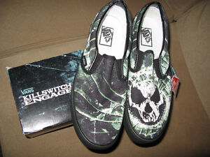 Rare KillSwitch Engage Vans - New IN Box with Tags - 10.5