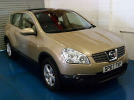 Nissan Qashqai 1.6 2WD Acenta 2007 Only 79K!