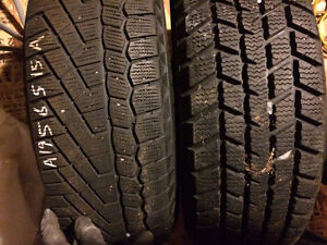 195/65 - r15 SNOW TIRES -set 4 Sale