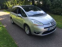 2007 07 PLATE CITROEN C4 GRAND PICASSO 2.0 HDI AUTO EXCLUSIVE EGS 7 SEATER MPV