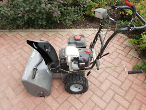 "Craftsman 24"" snowblower - electric start"