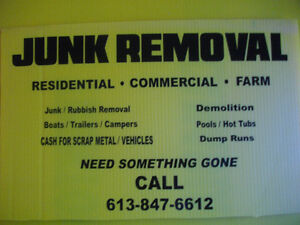 PROPERTY CLEAN UP/JUNK REMOVAL/DEMOLITION Belleville Belleville Area image 2