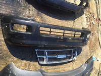 Isuzu Rodeo bumper and grill jeep 4x4 pickup can post