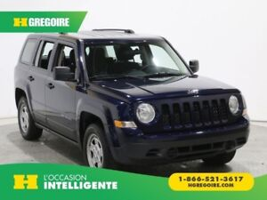 2016 Jeep Patriot Sport A/C
