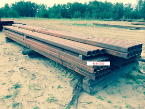 4x4x.500 HSS -  BLOW OUT - COMMERCIAL GRADE STEEL TUBE