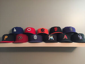 HATS - MLB (size from 7 1/4 to 7 1/2)