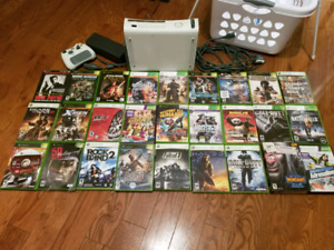 Xbox 360 60gb - lot of game