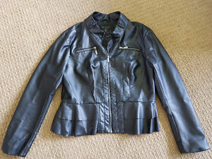 """Women's """"Guess""""Jacket Faux leather, barely used - Price Reduced!"""