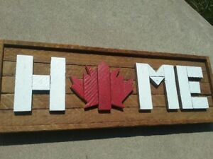 Canada Home Signs