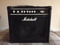 Marshall bass guitar amplifier