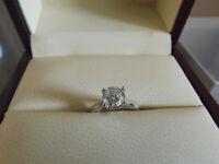 BRAND NEW!!! Alfred Sung Engagement Ring