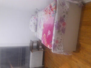Furnished room for June and July, $390