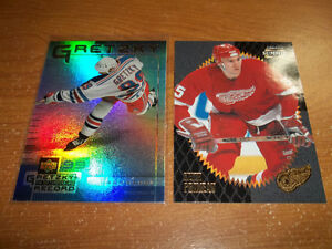 Cartes de HOCKEY (250) Upper Deck, O Pee Chee, Score...