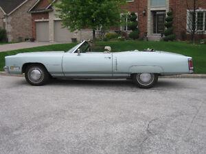 1972 Cadillac Eldorado convertible Windsor Region Ontario image 9