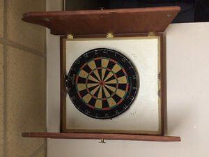 Professional Dart Board with cabinet