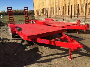 Trailer with ramps in very good condition