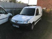 Peugeot Partner 1.6HDi 90bhp 800LX (injector issue) spares or repair