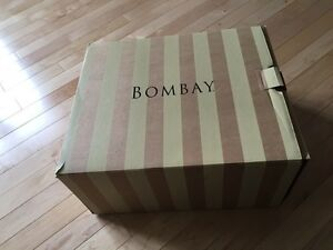 Bombay Company Photo Memory Box New-In-Box Cherry Finish