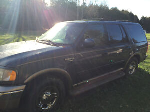 2000 Ford Expedition Eddie Bauer SUV, Crossover Kawartha Lakes Peterborough Area image 3