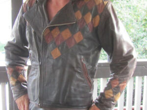 Leather Motorcycle Jacket Custom made 1 of a kind