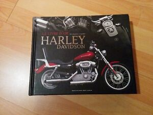 Livre de collection d'or HarleyDavidson