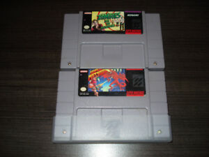 13 Jeux de Super Nintendo