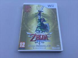The Legend of Zelda Skyward Sword Wii Special Orchestra CD