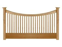 Willis and Gambier Oak king size bed head from John Lewis