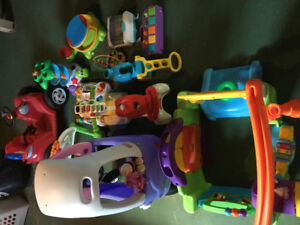 Lot of infant/toddler toys for sale!!