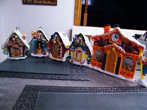 CHRISTMAS MR CHRISTMAS DISNEY 5 MUSICAL HOUSE FOR TREE