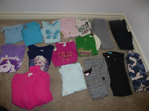 16-piece girls' clothing lot, size 10-12 Kitchener / Waterloo Kitchener Area image 1