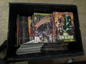 Marve Comic Books