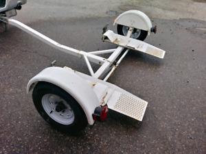 Car Dolly (Tilting platform and Tracking wheels)