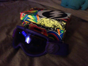 Electric EG2.5 Snowboard/Ski Goggles, Royal Purple, Bronze/Blue