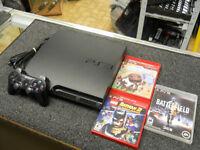 CONSOLE PS3 SLIM 160GO + 3 JEUX POUR SEULEMENT $139.95