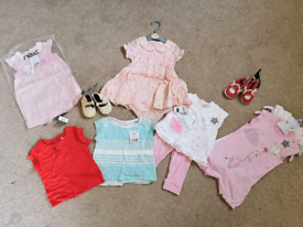 3-6 month baby girl summer bundle BNWT