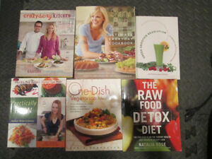 Vegetarian, Vegan & Raw Cookbooks
