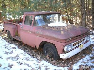 WANTED: 1960-66 Chevrolet & GMC Truck for Parts or Repair $$$