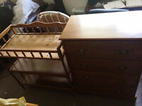 Mint Condition Dresser & matching Change table